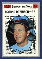 1970 Topps Baseball Cards      455     Brooks Robinson AS
