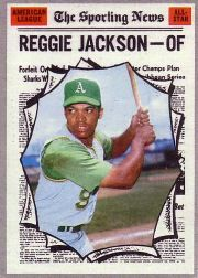 1970 Topps Baseball Cards      459     Reggie Jackson AS