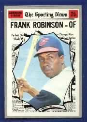 1970 Topps Baseball Cards      463     Frank Robinson AS