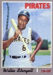 1970 Topps Baseball Cards      470     Willie Stargell