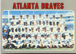1970 Topps Baseball Cards      472     Atlanta Braves TC