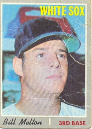 1970 Topps Baseball Cards      518     Bill Melton