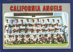 1970 Topps Baseball Cards      522     California Angels TC