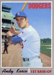 1970 Topps Baseball Cards      535     Andy Kosco