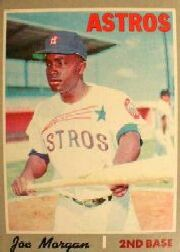 1970 Topps Baseball Cards      537     Joe Morgan