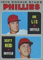 1970 Topps Baseball Cards      056      Rookie Stars-Joe Lis RC-Scott Reid RC