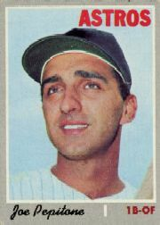 1970 Topps Baseball Cards      598     Joe Pepitone