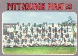 1970 Topps Baseball Cards      608     Pittsburgh Pirates TC
