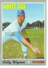 1970 Topps Baseball Cards      618     Billy Wynne RC