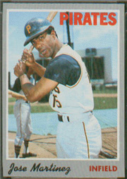 1970 Topps Baseball Cards      008       Jose Martinez RC