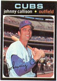 1971 Topps Baseball Cards      012      Johnny Callison