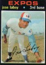 1971 Topps Baseball Cards      132     Jose Laboy