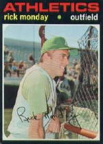 1971 Topps Baseball Cards      135     Rick Monday
