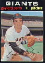 1971 Topps Baseball Cards      140     Gaylord Perry