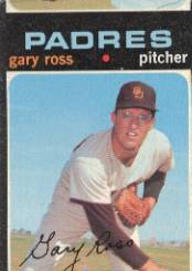 1971 Topps Baseball Cards      153     Gary Ross