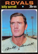 1971 Topps Baseball Cards      017      Billy Sorrell