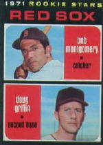 1971 Topps Baseball Cards      176     Bob Montgomery RC/Doug Griffin RC