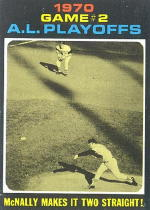 1971 Topps Baseball Cards      196     Dave McNally ALCS