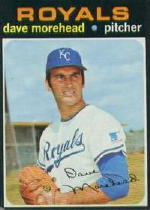 1971 Topps Baseball Cards      221     Dave Morehead