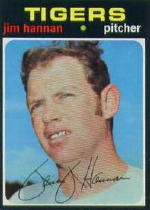 1971 Topps Baseball Cards      229     Jim Hannan