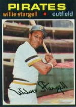 1971 Topps Baseball Cards      230     Willie Stargell