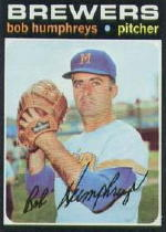 1971 Topps Baseball Cards      236     Bob Humphreys