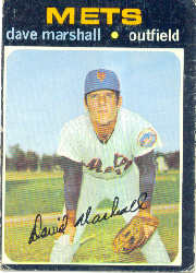 1971 Topps Baseball Cards      259     Dave Marshall