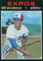 1971 Topps Baseball Cards      266     Bill Stoneman