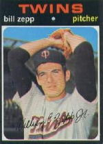 1971 Topps Baseball Cards      271     Bill Zepp