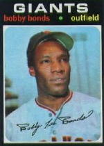 1971 Topps Baseball Cards      295     Bobby Bonds
