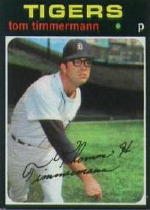 1971 Topps Baseball Cards      296     Tom Timmermann
