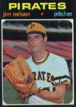 1971 Topps Baseball Cards      298     Jim Nelson RC