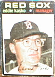 1971 Topps Baseball Cards      031      Eddie Kasko MG