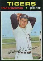 1971 Topps Baseball Cards      316     Fred Scherman RC