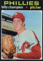 1971 Topps Baseball Cards      323     Billy Champion