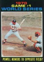 1971 Topps Baseball Cards      327     Boog Powell WS