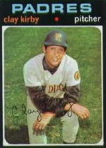 1971 Topps Baseball Cards      333     Clay Kirby