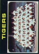 1971 Topps Baseball Cards      336     Detroit Tigers TC