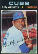 1971 Topps Baseball Cards      350     Billy Williams