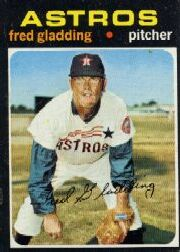 1971 Topps Baseball Cards      381     Fred Gladding