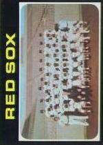1971 Topps Baseball Cards      386     Boston Red Sox TC