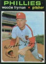 1971 Topps Baseball Cards      414     Woodie Fryman