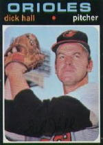 1971 Topps Baseball Cards      417     Dick Hall