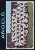 1971 Topps Baseball Cards      442     California Angels TC