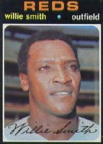 1971 Topps Baseball Cards      457     Willie Smith