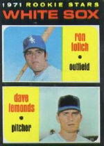 1971 Topps Baseball Cards      458     Ron Lolich RC/Dave Lemonds RC