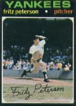 1971 Topps Baseball Cards      460     Fritz Peterson