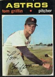 1971 Topps Baseball Cards      471     Tom Griffin