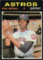 1971 Topps Baseball Cards      484     Don Wilson