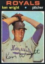 1971 Topps Baseball Cards      504     Ken Wright RC